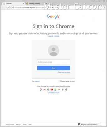 5/5 下载完成、自动安装后,Chrome会自动打开。