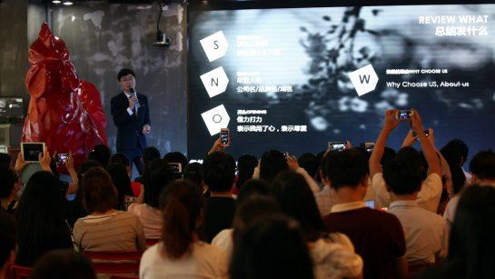 Master蔡浩正在总结开发信的核心问题——what发什么。